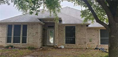 Mesquite Single Family Home For Sale: 1823 Hillwood Drive