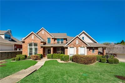 Rockwall Single Family Home For Sale: 1546 Parkside Circle