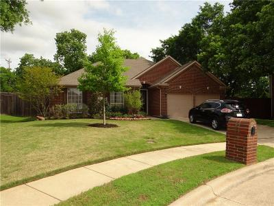 Lewisville Single Family Home For Sale: 1405 Oak Hill Circle