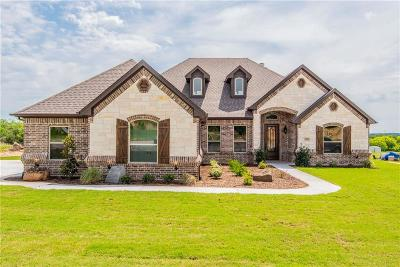 Archer County, Baylor County, Clay County, Jack County, Throckmorton County, Wichita County, Wise County Single Family Home For Sale: 122 Lucky Ridge Lane