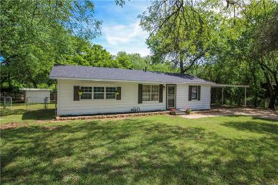 Azle Single Family Home Active Contingent: 620 Alfred Drive