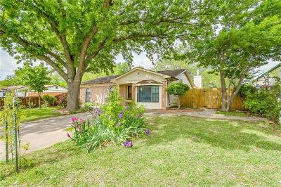 White Settlement Single Family Home Active Option Contract: 629 Comal Avenue