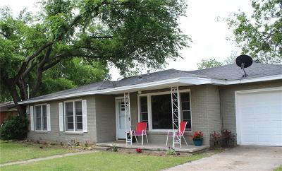 Stephenville Single Family Home Active Option Contract: 980 N Neblett Street