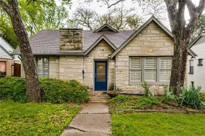 Dallas Single Family Home For Sale: 1610 Seevers Avenue
