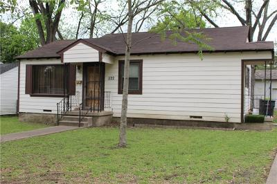 Dallas Single Family Home For Sale: 1122 Hansboro Avenue