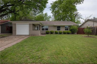 Richardson Single Family Home For Sale: 1202 Dearborn Drive