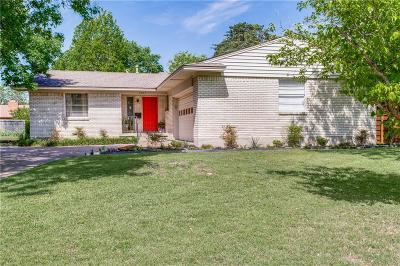 Dallas Single Family Home Active Option Contract: 3027 Mapleleaf Lane