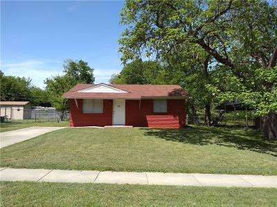 Mesquite Single Family Home Active Option Contract: 1709 Orchid Avenue