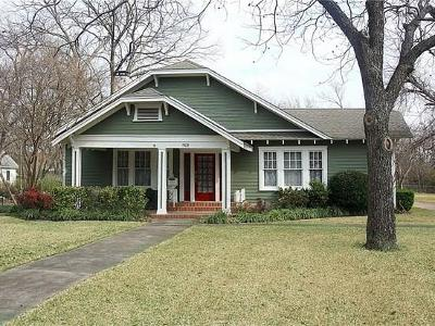 Kaufman Single Family Home For Sale: 1509 S Houston Street