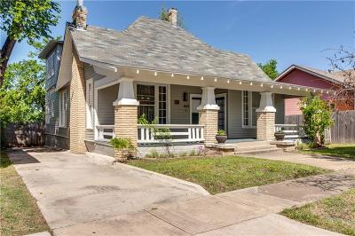 Fort Worth Single Family Home For Sale: 1614 College Avenue