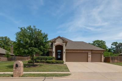 Weatherford Single Family Home Active Option Contract: 2121 Caroline Drive