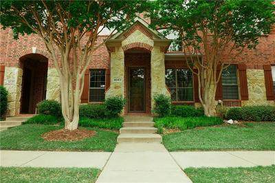Plano Townhouse For Sale: 4693 Edith Street