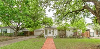 Fort Worth Single Family Home For Sale: 6305 Locke Avenue
