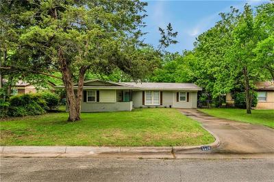 Fort Worth Single Family Home For Sale: 5524 Trail Lake Drive