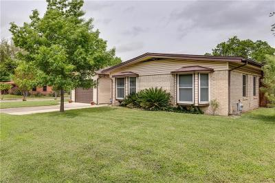 Irving Single Family Home Active Option Contract: 1619 Belmead Lane