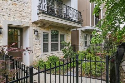 Dallas County Townhouse For Sale: 4228 Boyer Place