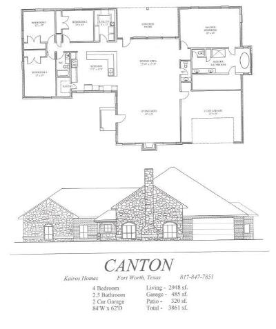 Weatherford Single Family Home For Sale: Lot 22 Old Authen Road