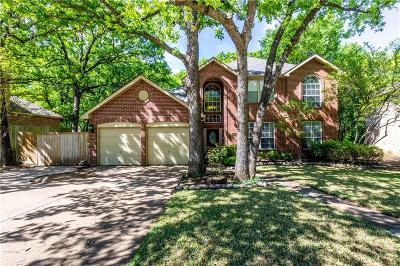 Bedford Single Family Home For Sale: 3513 Creekside Court