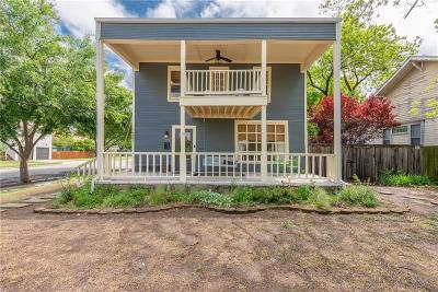 Fort Worth Single Family Home For Sale: 1701 S Henderson Street