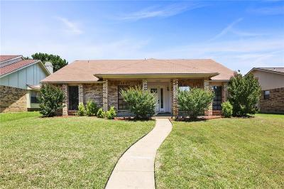 Plano TX Single Family Home Active Option Contract: $284,900