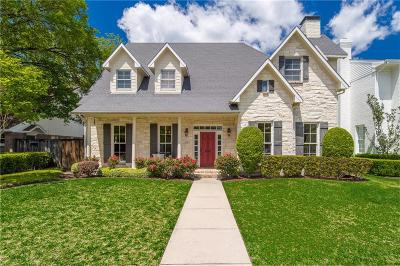 Highland Park, University Park Single Family Home For Sale: 4128 Bryn Mawr Drive