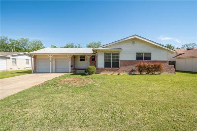 Farmers Branch Single Family Home Active Option Contract: 14138 Birchlawn Drive
