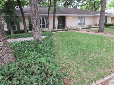 Irving Single Family Home For Sale: 1420 Mosswood Lane