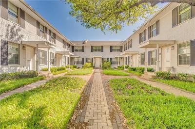Dallas Condo For Sale: 4714 Bradford Drive #B