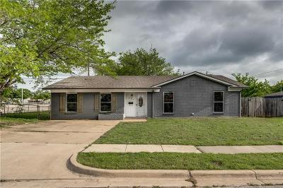 Crowley Single Family Home Active Option Contract: 501 Giles Avenue