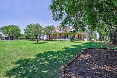 Denton County Single Family Home For Sale: 9936 Jim Christal Road