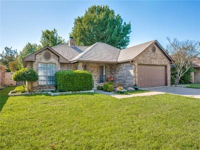 Fort Worth Single Family Home Active Option Contract: 7616 Pampas Drive