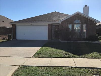 Arlington Single Family Home Active Option Contract: 1207 Varacruz Drive