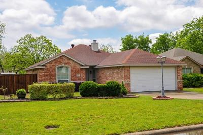 Grand Prairie Single Family Home Active Option Contract: 621 W Church Street