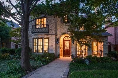 Dallas TX Single Family Home For Sale: $1,499,900