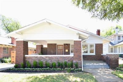 Fort Worth Single Family Home For Sale: 2337 Harrison Avenue