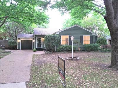 Fort Worth Single Family Home For Sale: 6312 Kenwick Avenue