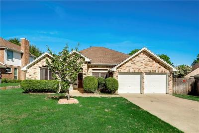 Grapevine Single Family Home Active Option Contract: 4221 Hearthside Drive