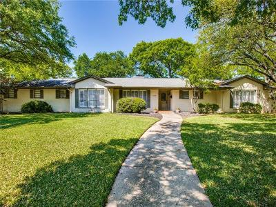 Dallas Single Family Home For Sale: 4439 Goodfellow Drive