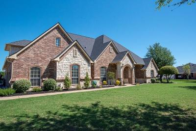 Haslet Single Family Home Active Contingent: 1032 Van Zandt Court