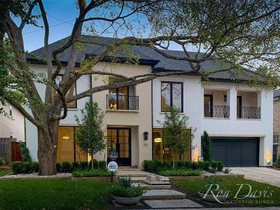 Preston Hollow Single Family Home For Sale: 6632 Northwood Road