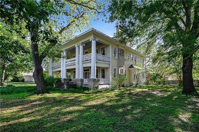 Angus, Barry, Blooming Grove, Chatfield, Corsicana, Dawson, Emhouse, Eureka, Frost, Hubbard, Kerens, Mildred, Navarro, No City, Powell, Purdon, Rice, Richland, Streetman, Wortham Single Family Home For Sale: 302 S Colket Street