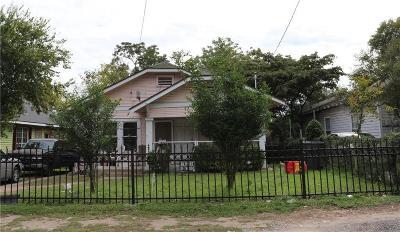 Dallas Single Family Home For Sale: 806 E 12 Th Street