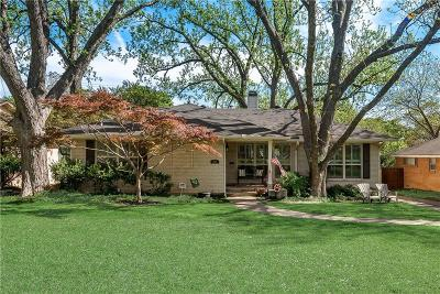 Dallas County Single Family Home Active Contingent: 9824 Chiswell Road