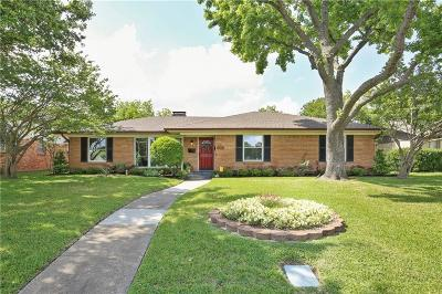 Farmers Branch Single Family Home Active Option Contract: 13547 Rawhide Parkway