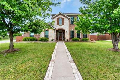 Wylie Single Family Home Active Contingent: 1301 Iron Dale Drive