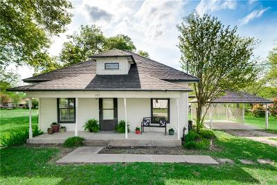 Collin County Single Family Home For Sale: 205 N Main Street