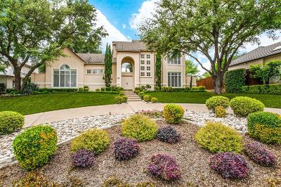 Single Family Home For Sale: 17531 Woods Edge Drive