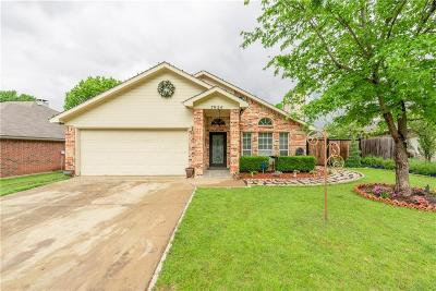 Fort Worth Single Family Home Active Option Contract: 7924 Regency Lane