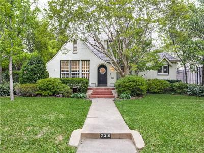 Highland Park Residential Lease For Lease: 3310 Cornell Avenue