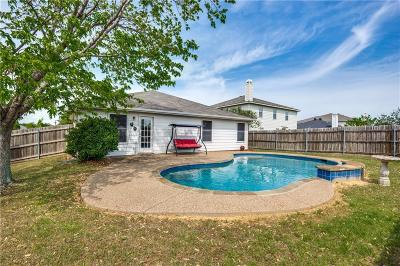 Little Elm Single Family Home For Sale: 2701 White Pine Drive